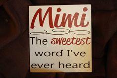 And my Love Bug sounds soooooo sweet when he says it!