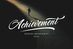 Achievement Script  by vatesdesign on @creativemarket
