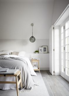 The interior blends Scandinavian, industrial, and a dash of glamour, while still conserving the traditional feel of the house and preserving period details.