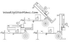 You can build a manual log splitter that will last a