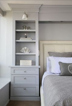 Bedroom Decor. It's the details that make all the difference in this master bedroom.   Bedroom