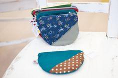 www.diebuntique.at Love Blue, Coin Purse, Wallet, Purses, Taschen, Handbags, Coin Purses, Handmade Purses, Wallets
