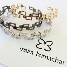 Bracelete coleção Urban!!!! #mairabumachar  www.mairabumachar.com.br #lojapraiadocanto #vix #showroomsp #VilaMadalena  #pedidosporwhatsapp (11)997440079 #coleçãourban #braceletes