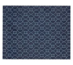 Knot Tufted Rug - Blue | Pottery Barn