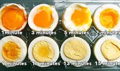 Eggs Boiling Guide
