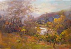 "Makarov Vitaly ""The Lyric Autumn Of Podkumok"" - oil, canvas http://www.russianfineart.co/catalog/prod.php?productid=19110"
