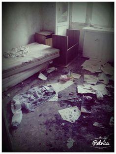 Одна из комнат в санатории