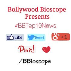"""#BBTop10News 1.'Ragini MMS 2' director Bhushan Patel has been signed by producer Kumar Mangat to direct another horror film starring Aditi Rao Hydari""""  2.Dharmendra reportedly wants to do more films with his sons Sunny and Bobby Deol""""  3.Sonam Kapoor: """"I dare Ranbir to get married.""""   4.Kareena Kapoor Khan was seen shooting for a special dance number for Akshay Kumar's upcoming film """"Gabbar"""".  5.Karan Johar's 'Shuddhi' likely to clash with Sanjay Leela Bhansali's 'Bajirao Mastani'.  6.Balaji…"""