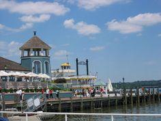 Alexandria, VA waterfront heading back to the national harbor