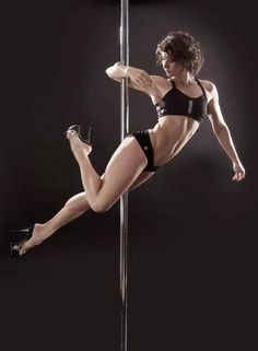 """Announcing the new fully illustrated """"Pole Tricks Handbook"""" for pole lovers! Your complete easy to read A-Z of pole dancing moves that will help you master all levels of pole dancing."""