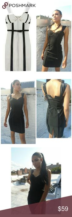 ANTHROPOLOGIE BLACK DRESS WITH SATIN DETAILS SZ S ANTHROPOLOGIE / YOANA  BARASCHI BLACK DRESS WITH SATIN STRAPS & SATIN DETAILS DOWN THE DRESS.  MISSING THE BELT. SIZE SMALL  WE LOVE OFFERS!  BUY NOW OR BUNDLE AND SAVE! SUGGESTED SELLER  SAME DAY SHIPPING  SHOP WITH CONFIDENCE! Anthropologie Dresses