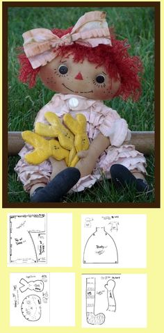 free doll pattern ..