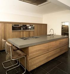 CaesarStone (Slate Honed) kitchen worktop by Erbi - Fred Constant # Pin++ for Pinterest #