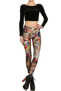 Kandinsky Leggings. Shop now at POPRAGEOUS.com!
