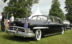 1950 Lincoln Cosmopolitan Limousine 'Bubbletop', the bubbletop element added by President Dwight D Eisenhower in 1954 so that crowds could still see him during a rainstorm. The Queen rode in this car on the way to the White House when she arrived in Washington in 1957