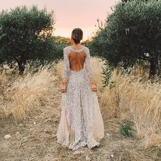Pin for Later: Hold Your Breath Because This Blogger's Wedding Gown Is Even More Stunning From the Back
