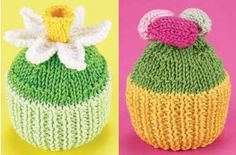 Get your hands on a free knitting patterns created by the knitting experts at Woman's Weekly Free Knitting Patterns Uk, Christmas Knitting Patterns, Knit Patterns, Knitting Paterns, Knitting Toys, Food Patterns, Knitted Flowers, Knitted Animals, Knitting Accessories