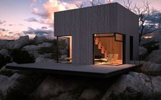 Mountain Shelter, designed by NTNV
