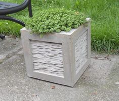 So, my dears, if you are willing to see and learn more check out the DIY Concrete Decor Ideas For Your Home and Garden. Cement Flower Pots, Cement Garden, Large Flower Pots, Cement Pots, Concrete Crafts, Concrete Projects, Concrete Design, Concrete Planter Molds, Concrete Bowl