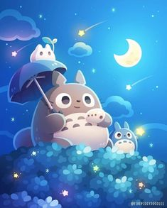 Anime Totoro, Totoro Drawing, Panda Wallpapers, Studio Ghibli Art, Nerd Art, Glitter Art, Ghibli Movies, Third Baby, Comics