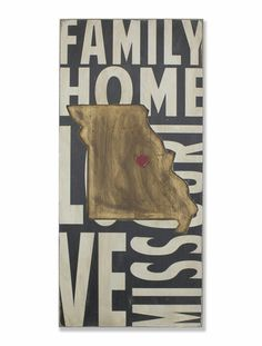 Missouri, sign, - Barn Owl Primitives, vintage wood signs, typography decor,