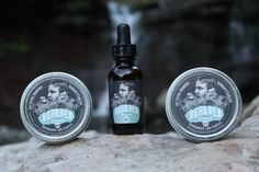 Bearded Nomads' beard and moustache balm oil and by BeardedNomad