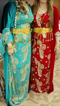 Lovely Kurdish Dresses with the beautiful traditional Belts.