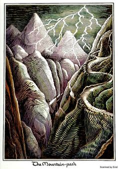 "J.R.R. Tolkien ""The Mountain Path"""