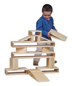 Guidecraft Hollow Building Block Set | zulily