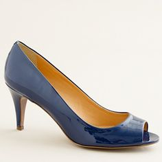 I love these. The heel isn't too high... perfect for a spring or summer wedding or event.