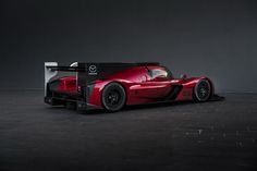 Unveiled today at the Los Angeles Auto Show, the new RT24-P race car is Mazda's racing flagship.