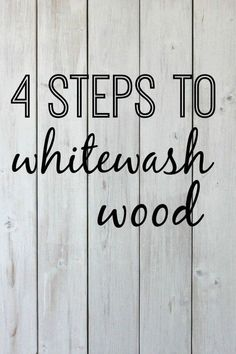 4 Steps to Whitewash Wood is part of Wooden pallet projects - A DIY tutorial explaining how to whitewash wood in 4 easy steps Creating a vintage feel for your home with whitewashing How to whitewash wood walls Wooden Pallet Projects, Wooden Pallet Furniture, Diy Furniture, Diy Projects, Pallet Ideas, Pallet Wood, Skid Pallet, Pallet Porch, Barn Wood