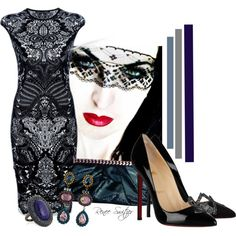 """Hypnotic"" by renee-switzer on Polyvore"
