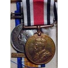 WWI Royal Naval Air Service & Special Constabulary Medals To Harry H. Redman