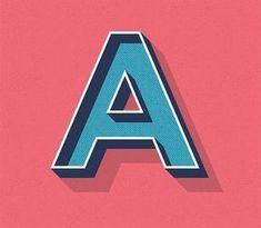 Illustrator Herramientas How To Create an Editable Retro Text Style in Illustrator Graphic Design Fonts, Graphic Design Tutorials, Text Design, Typography Design, Logo Design, Adobe Illustrator Tutorials, Photoshop Illustrator, Adobe Photoshop, Ai Illustrator