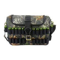 Nitehawk Black Shooting//Hunting Shotgun Cartridge Storage Bag Ammo Case