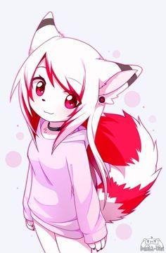 : AT : Alina :. by Devil-Vox on <<< she's adorable Anime Neko, Manga Kawaii, Cute Anime Chibi, Anime Furry, Furry Art, Furry Wolf, Anime Wolf Girl, Anime Art Girl, Fan Art