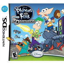 Disney Phineas and Ferb DS Game-MAX