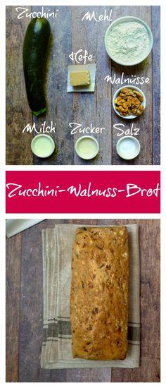 Brot | Zucchini | Hefe | Dinkelmehl | Walnuss | einfach