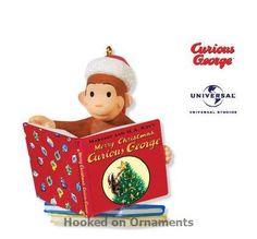2010 Merry Christmas, Curious George, Hallmark Keepsake Ornament at Hooked on Hallmark Ornaments