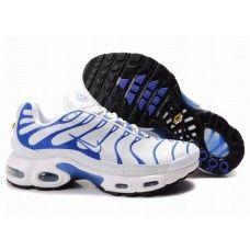 Hommes Nike Air Max TN Blanc/Bleu 88,98