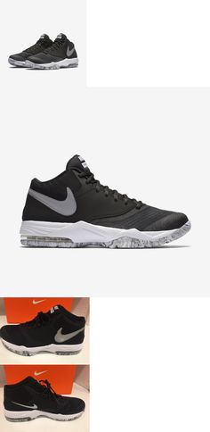 Athletic 15709: Nike Air Max Emergent Black Silver Mens Basketball Shoes  Sneakers 818954-001
