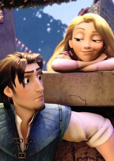 Disney tangled Rapunzel and Flynn rider such a cute couple