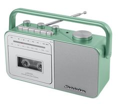 Tape Recorder, Built In Speakers, Digital Audio, Boombox, Ac Power, Qvc, Bluetooth, Sewing, Shop