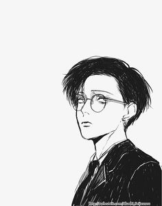 Levi? Glasses are perfect on his face
