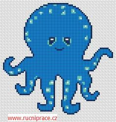 Octopus - free cross stitch pattern