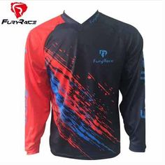6a400f9d2 Men Pro Mountain Bike Clothes Wear Skull Women Cycling Maillot MTB Tops MX  Motocross Bicycle Shirts Downhill DH T-shirt
