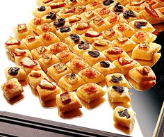 Apéro-Focaccia Feta, Starters, Waffles, Snacks, Breakfast, Party, Recipes, Finger Food, Pies