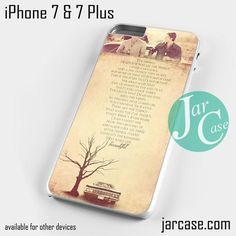 supernatural quotes Phone case for iPhone 7 and 7 Plus