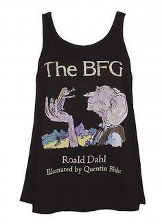 Ladies Roald Dahl The BFG Swing Tank
